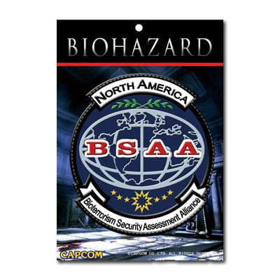 BIOHAZARD BSAA N.A. PATCH PVC(ラバー)