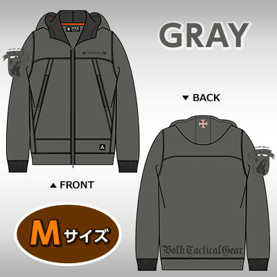 VOLK MOUNTAIN PARKA BIOHAZARD UMBRELLA CORPSGRAYM
