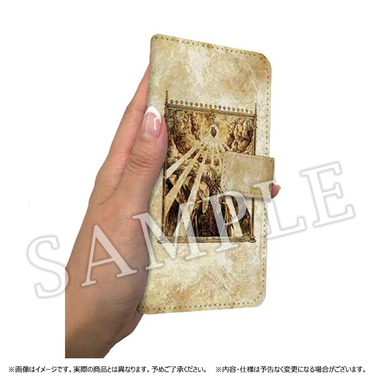 Dragon's Dogma 5th ANNIVERSARY 手帳型 iPhoneケース(古書)/7