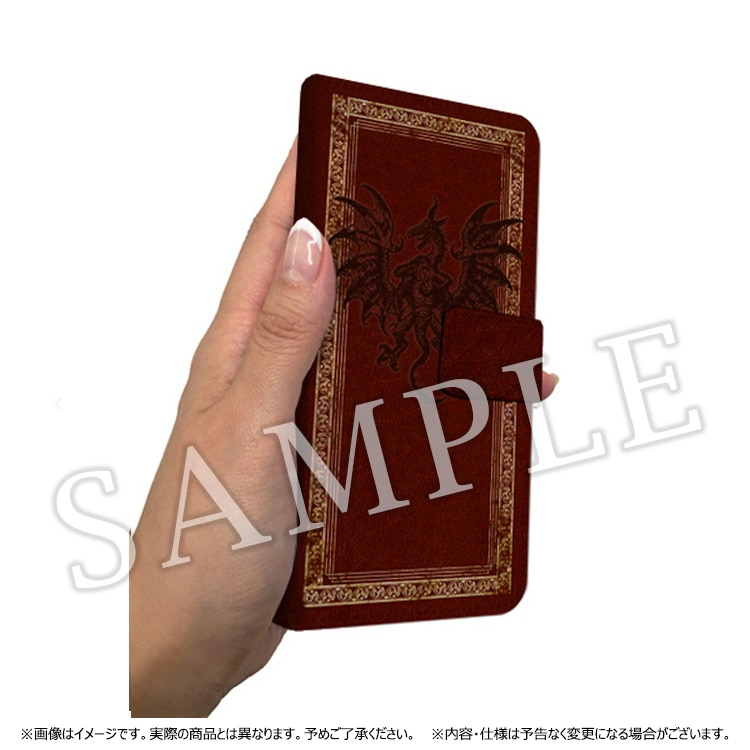 Dragon's Dogma 5th ANNIVERSARY 手帳型 iPhoneケース(ドラゴン)/6/6s