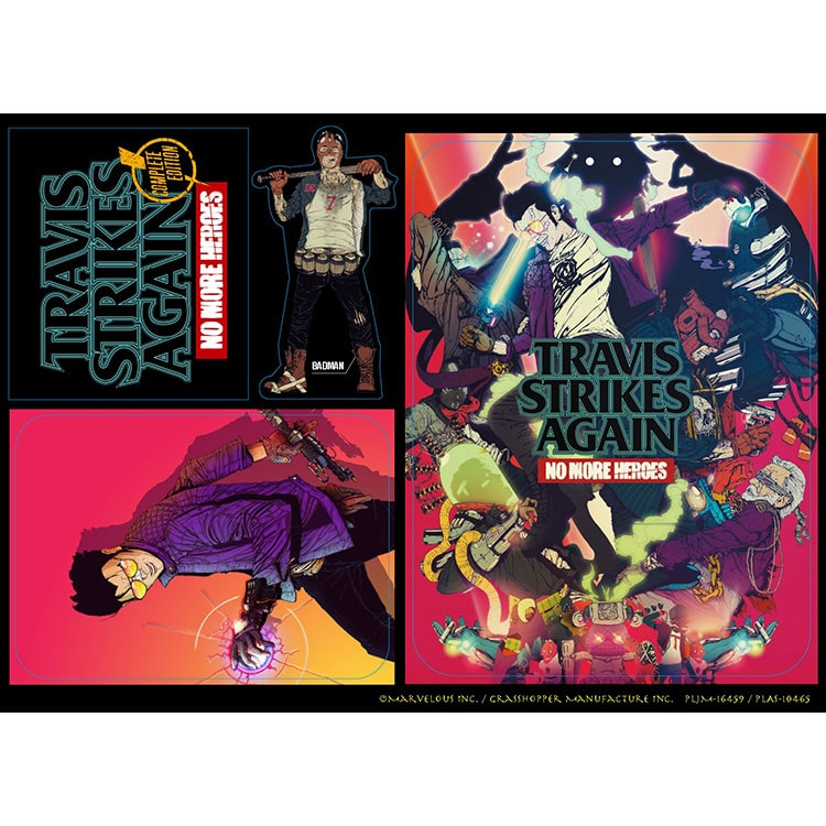 Travis Strikes Again: No More Heroes Complete Edition(PS4)
