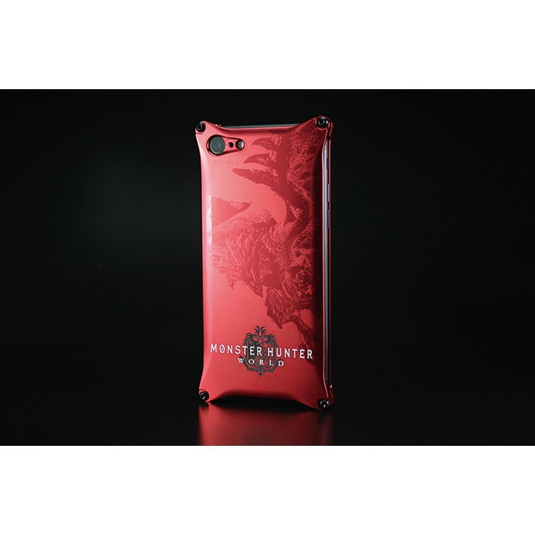 MONSTER HUNTER: WORLD Solid for iPhone8/7 レッド
