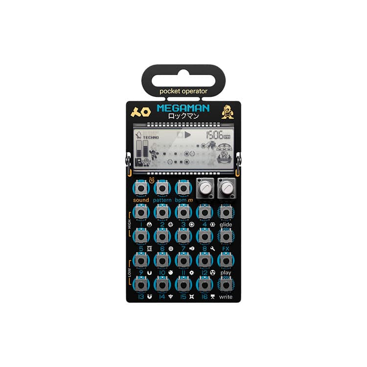 teenage engineering PO-128 (MEGAMAN)