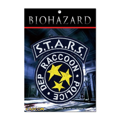 BIOHAZARD S.T.A.R.S. PATCH 刺繍