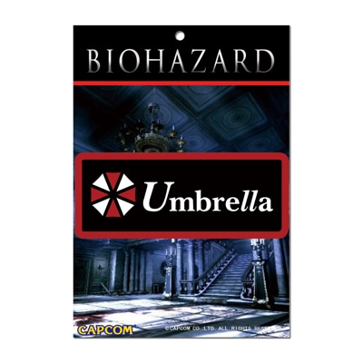 BIOHAZARD Umbrella LOGO PATCH(刺繍タイプ)
