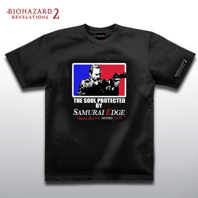 BIOHAZARD BARRY T-Shirts BLACK XXL