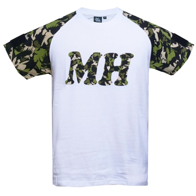 MH Tシャツ for PATCHカモフラージュ(GREEN)L
