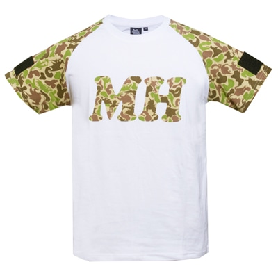 MH Tシャツ for PATCHカモフラージュ(YELLOW)XL
