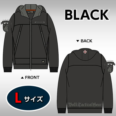 VOLK MOUNTAIN PARKA BIOHAZARD UMBRELLA CORPSBLACKL