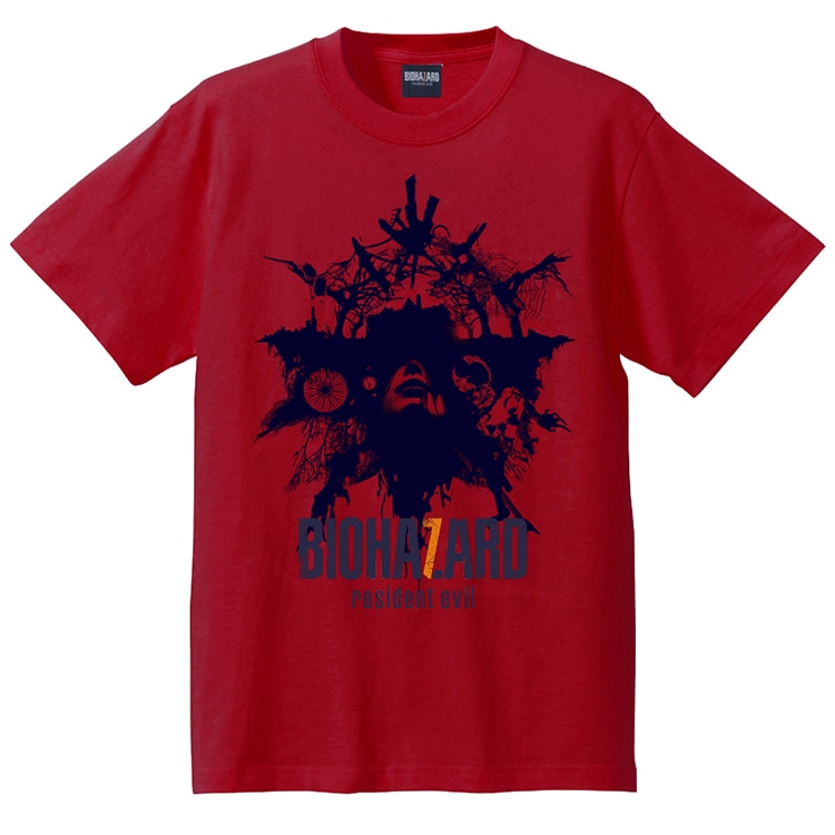 BIOHAZARD 7 Tシャツ(RED) S