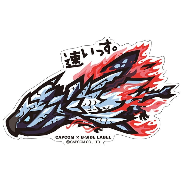 CAPCOM×B-SIDE LABELステッカー
