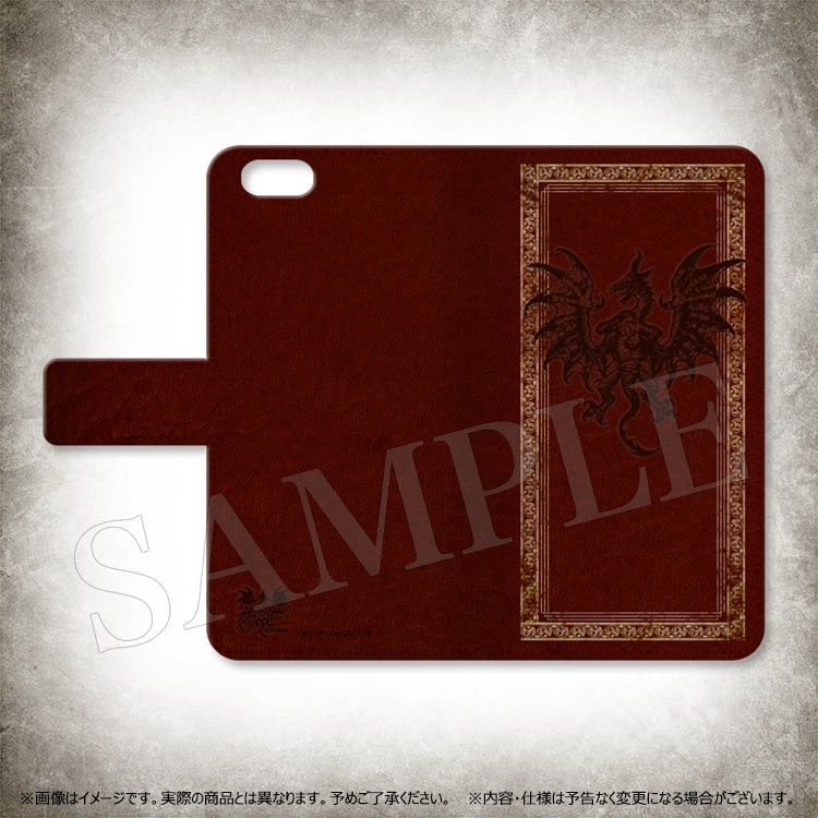 Dragon's Dogma 5th ANNIVERSARY 手帳型 iPhoneケース(ドラゴン)/7