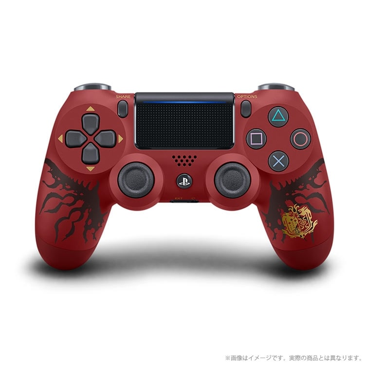 ワイヤレスコントローラー(DUALSHOCK(R)4)MONSTER HUNTER: WORLD LIOLAEUS EDITION